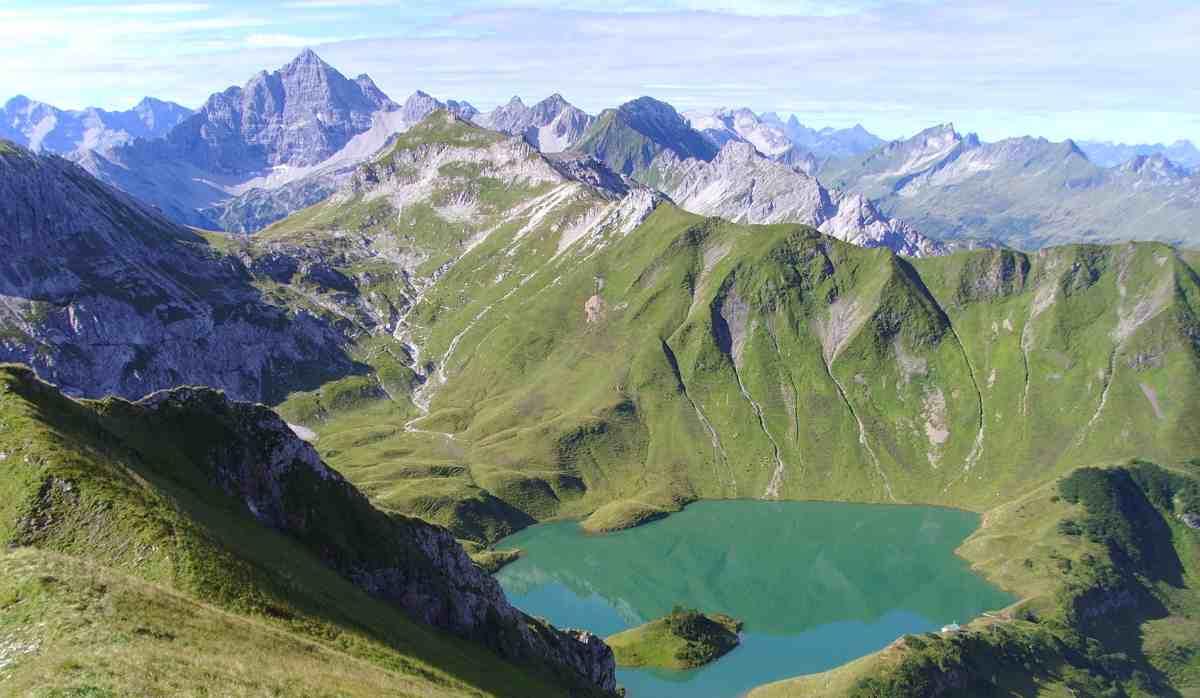 Schrecksee  der schönste Allgäuer Bergsee